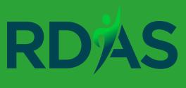 The Regional Disability Advocacy Service (RDAS) logo