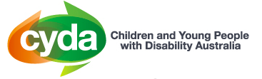 Children and Young People with Disability Australia (CYDA) logo