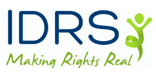 Intellectual Disability Rights Service (IDRS) logo