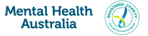 Mental Health Australia logo