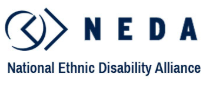 National Ethnic Disability Alliance (NEDA) logo