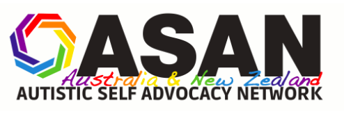 The Autistic Self Advocacy Network of Australia and New Zealand (ASAN AUNZ) logo