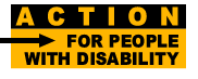 ACTION for People with Disability logo