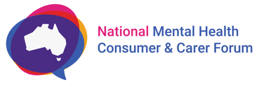 National Mental Health Consumer and Carer Forum (NMHCCF) logo