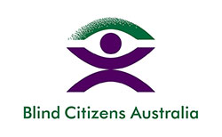 Blind Citizens Australia (BCA) logo